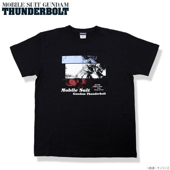 機動戦士ガンダム サンダーボルト Tシャツ(MS-06R柄)