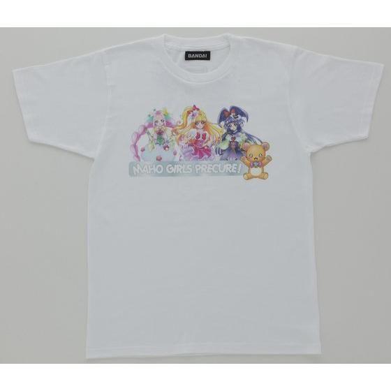 魔法つかいプリキュア!親子Tシャツ カラーイラスト柄 大人用