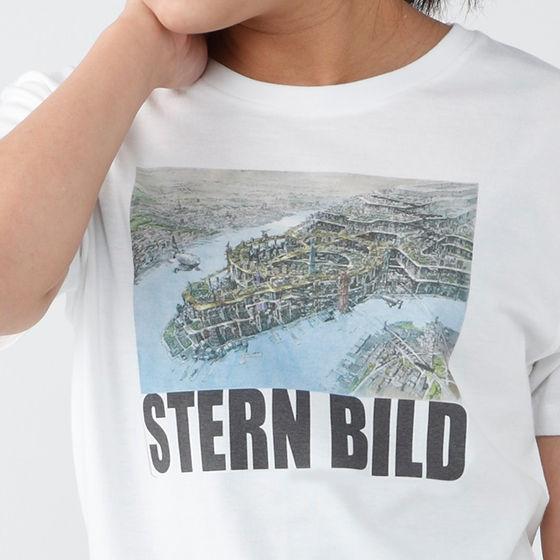 TIGER & BUNNY シュテルンビルトTシャツ「シュテルンビルト全景」