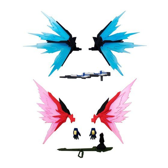 FW GUNDAM CONVERGE 光の翼オプションセット【プレミアムバンダイ限定】