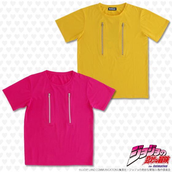 ジョジョの奇妙な冒険 仗助なりきり ファスナーTシャツ