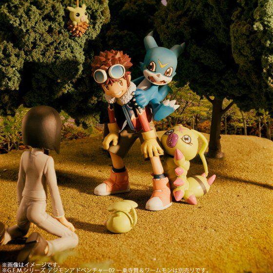 G.E.M.シリーズ  デジモンアドベンチャー02  本宮大輔&ブイモン