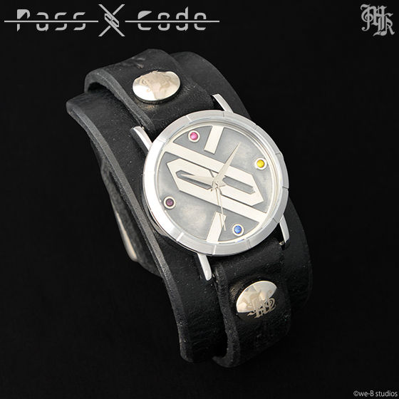 【Musikleidung】PassCode×Red Monkey Collaboration Wristwatch Silver925 Hi-End Model