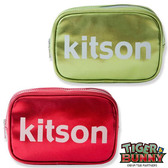 TIGER & BUNNY×kitson コラボポーチ
