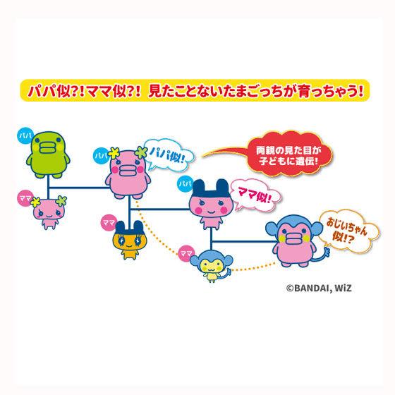 Tamagotchi m!x �p�[�t�F�N�g������  Spacy �p�[�v�� �Z�b�g�y���������z
