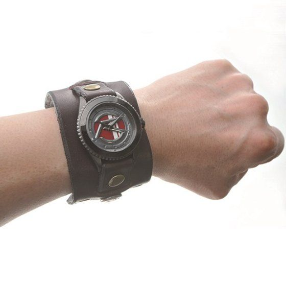 仮面ライダーハート × Red Monkey Designs Collaboration Wristwatch Silver925 High-End Model