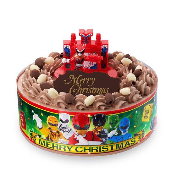 キャラデコクリスマス 動物戦隊ジュウオウジャー(チョコクリーム)