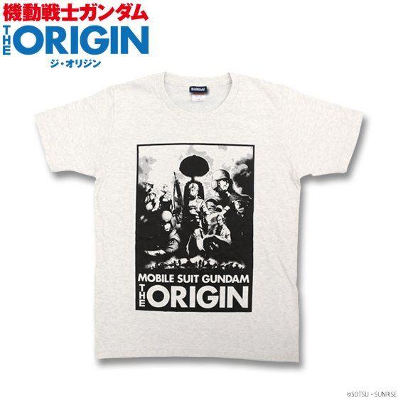 機動戦士ガンダム THE ORIGIN Tシャツ(キービジュアル柄)