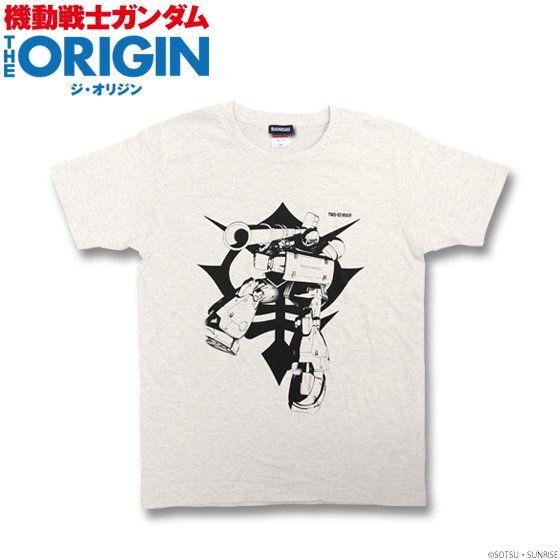 機動戦士ガンダム THE ORIGIN Tシャツ(YMS-03 ヴァッフ柄)