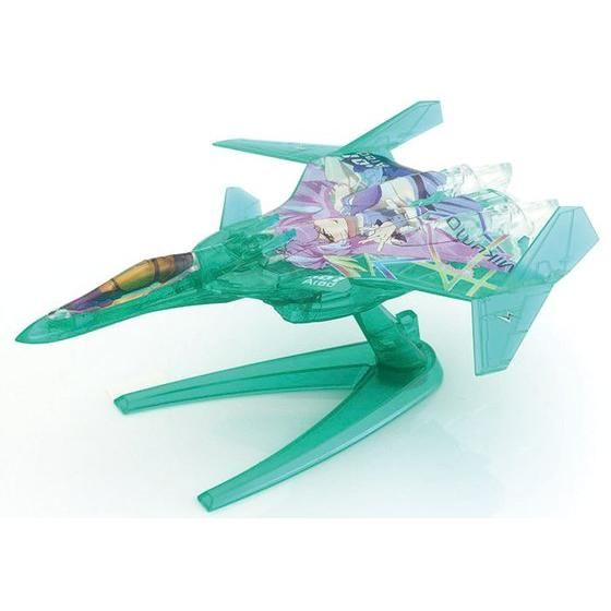 【マクロスΔ】 メカコレ VF-31 ジークフリード ファイターモード  Δ小隊セット リミテッドクリアVer.