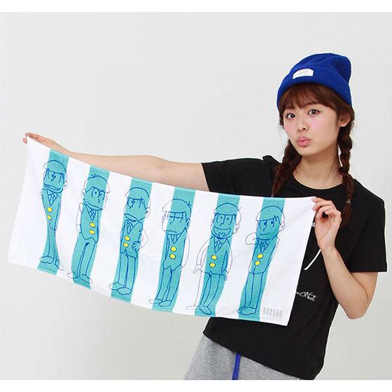 おそ松さん×HTML ZERO3×BANDAI Sports towel (スポーツタオル)【2016年11月発送分】