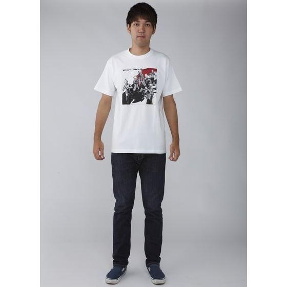 菅原芳人計画 ウルトラ6兄弟Tシャツ(ホワイト)