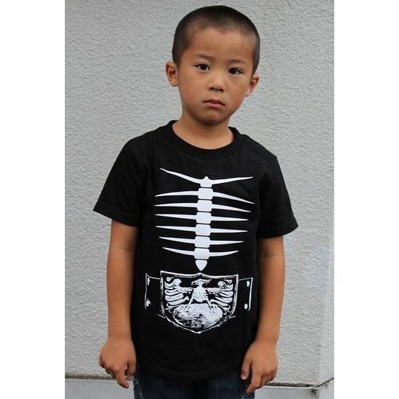 仮面ライダー ショッカー戦闘員なりきり風Tシャツ
