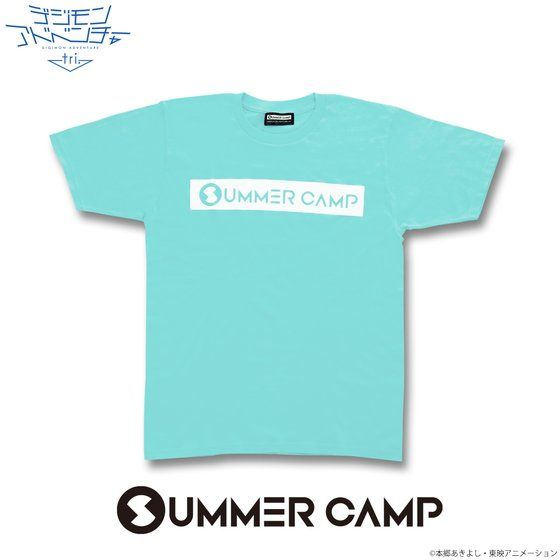 デジモンアドベンチャーtri. SUMMER CAMP Tシャツ(サックス)