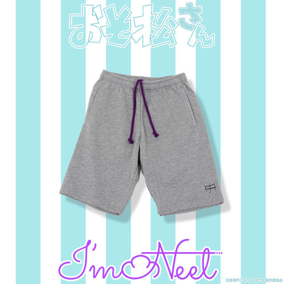おそ松さん×HTML ZERO3×BANDAI I'm Neet Face Sweat Short (スウェットショーツ)