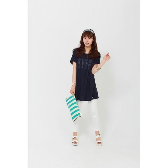 おそ松さん×HTML ZERO3×BANDAI I'm Neet Six Stripe Clutch Bag (クラッチバッグ)