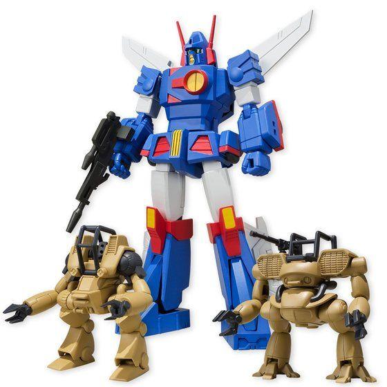 スーパーミニプラ 戦闘メカ ザブングル(カラーB)(4個入)