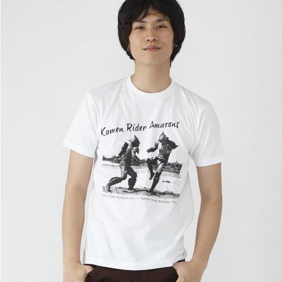 仮面ライダーアマゾンズ アマゾンアルファ×アマゾンオメガ battleTシャツ