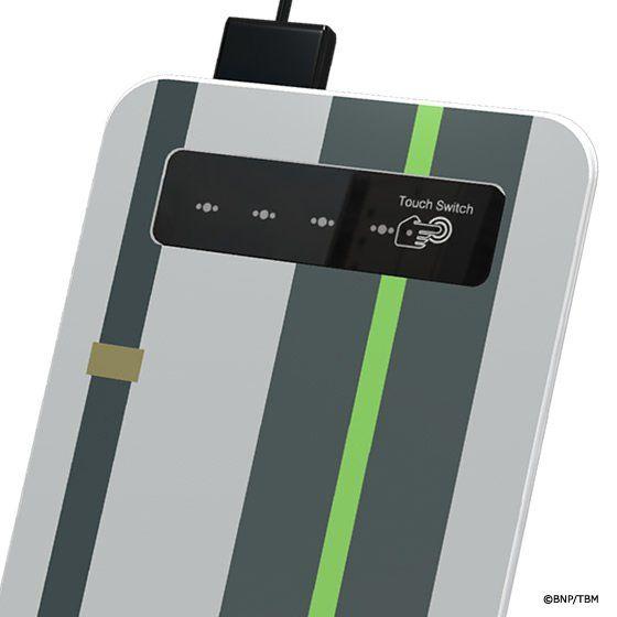キャラクロ feat. 劇場版 TIGER & BUNNY -The Rising- モバイル充電器<PB限定特典:シュテルンビルト入国チケット付>