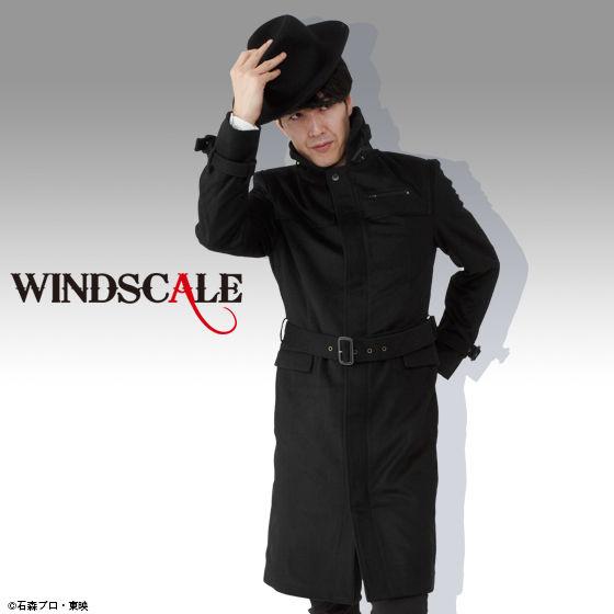 仮面ライダーW WIND SCALE コート(ブラック)