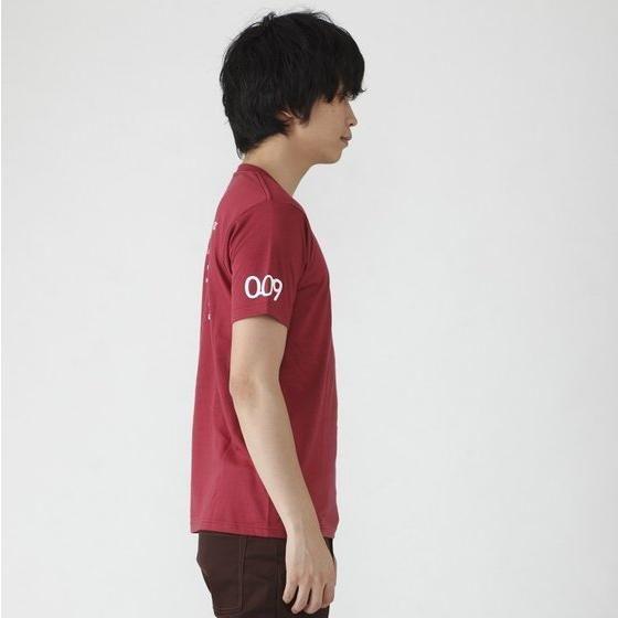 仮面ライダードライブ 仮面ライダーハートTシャツ(バーガンディ)