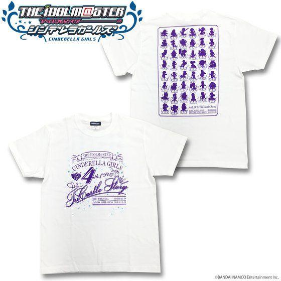 ☆Lサイズ入荷☆アイドルマスター シンデレラガールズ 4thLIVE Tシャツ