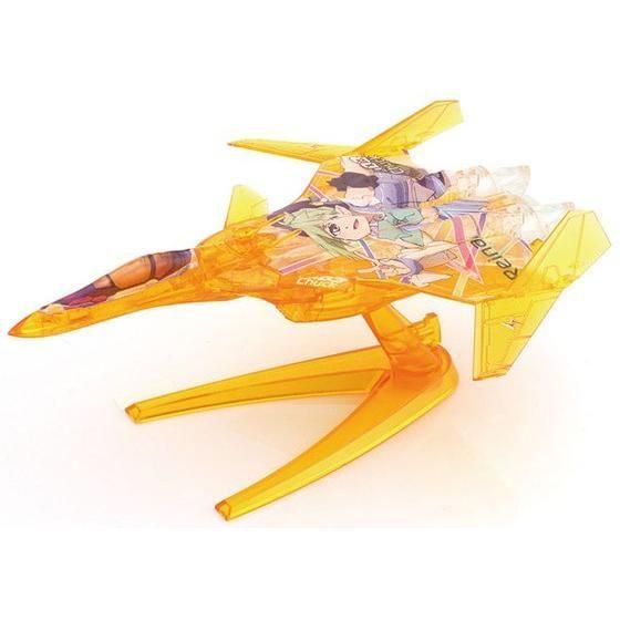 【マクロスΔ】 メカコレ VF-31 ジークフリード ファイターモード  Δ小隊セット リミテッドクリアVer.【2017年1月発送】