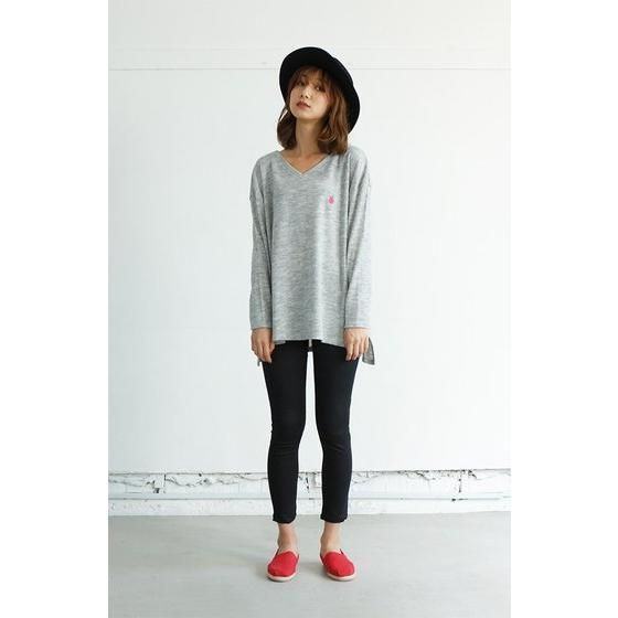 TIGER & BUNNY×HTML Guttarelax Dinky Mate V Neck Sweater(Vネックセーター)