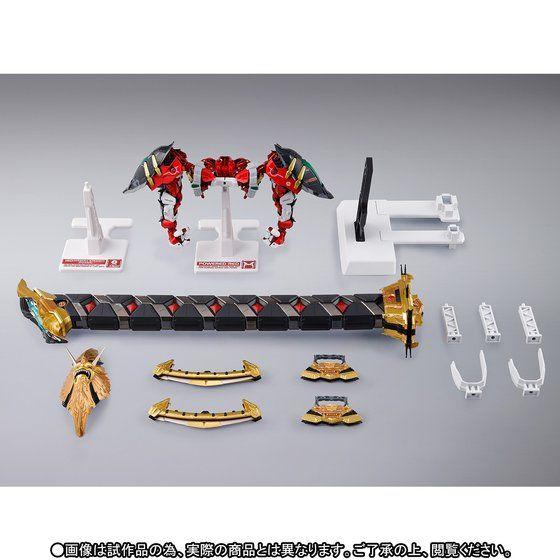 METAL BUILD パワードレッド&150ガーベラ・ストレート[パワー] オプションセット