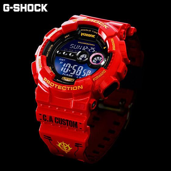 【抽選販売】機動戦士ガンダム35周年記念商品 シャア専用 G-SHOCK【2017年2月発送】