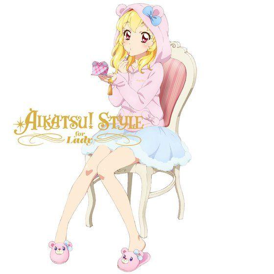 AIKATSU!STYLE for Lady エンジェリーベア ルームシューズ