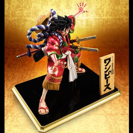 """【抽選販売】Portrait.Of.Piratesワンピース""""KABUKI EDITION"""" モンキー・D・ルフィ【送料無料】"""