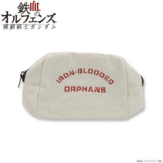 機動戦士ガンダム 鉄血のオルフェンズ 鉄華団 キャンバスミニポーチ