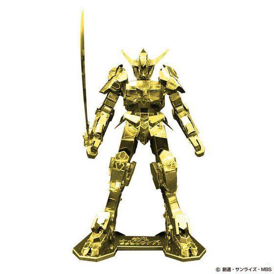 メタリックナノパズル ガンダム・バルバトス ゴールドver.【プレミアムバンダイ限定版】
