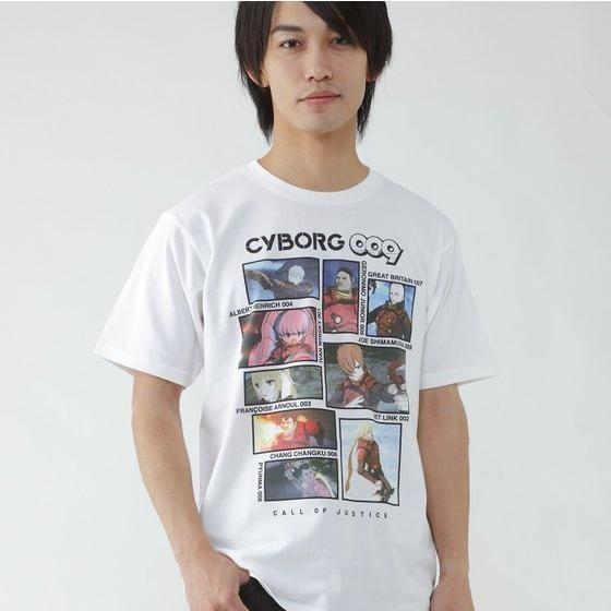 サイボーグ009 CALL OF JUSTICE Tシャツ(場面写柄)