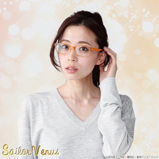 【抽選販売】美少女戦士セーラームーンCrystal×JINS×BANDAI セーラーヴィーナスモデル オリジナルケースセット