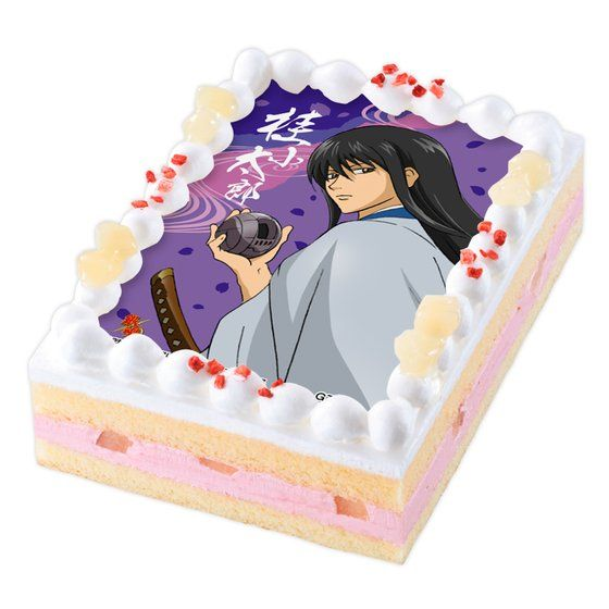 キャラデコプリントケーキ 銀魂 桂小太郎【2017年2月上旬発送】