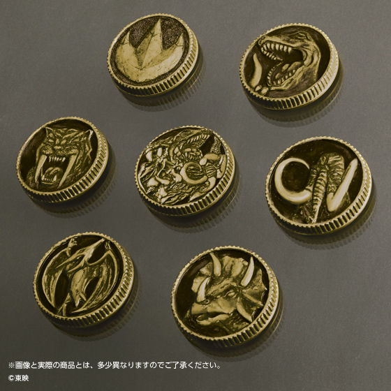 【抽選販売】恐竜戦隊ジュウレンジャー 守護獣メダルセット