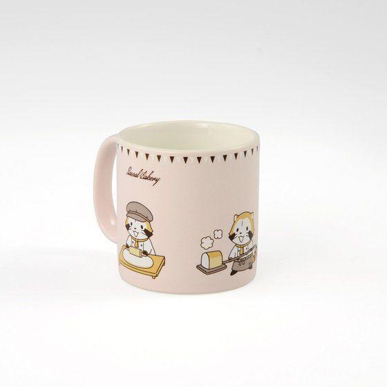 ラスカルベーカリー紅茶缶&ミニマグカップセット