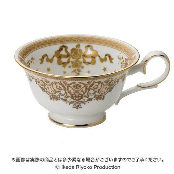 ベルサイユのばら×ノリタケ オスカル&アンドレ Wedding Tea Cup & Saucer Set