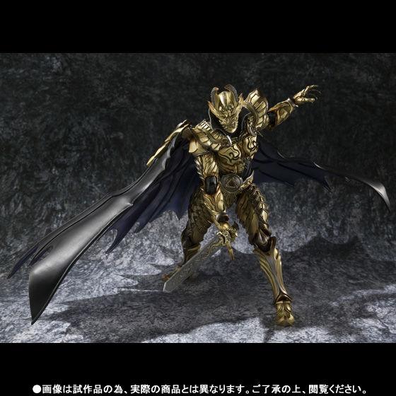 【抽選販売】魔戒可動 黄金騎士 ガロ・翔