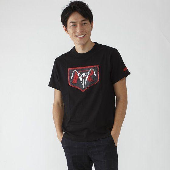 仮面ライダー×ノルソルマニア コラボTシャツ(立花レーシングクラブマーク柄)ブラック