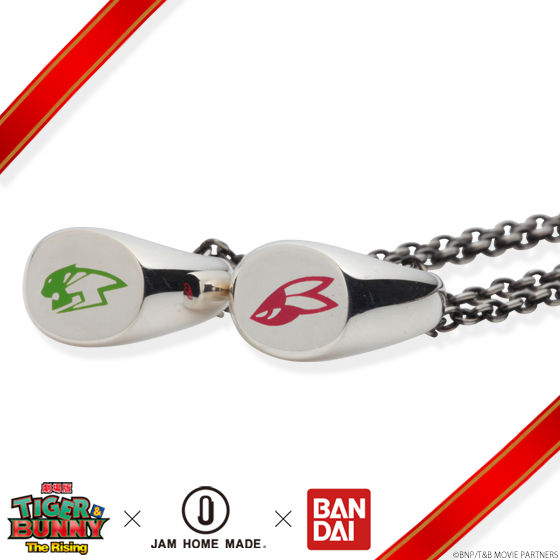 【再販】劇場版 TIGER & BUNNY -The Rising-×JAM HOME MADE ネックレス silver925