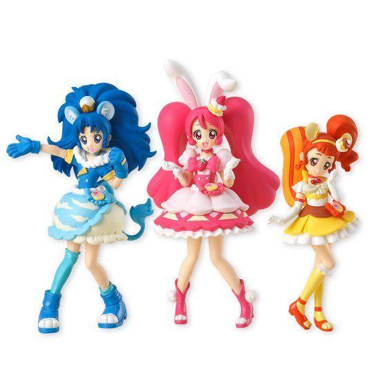 キラキラ☆プリキュアアラモード キューティーフィギュア〜3種セット〜