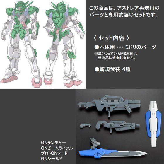RG 1/144 ガンダムエクシア用 ガンダムアストレアパーツセット 【再販】