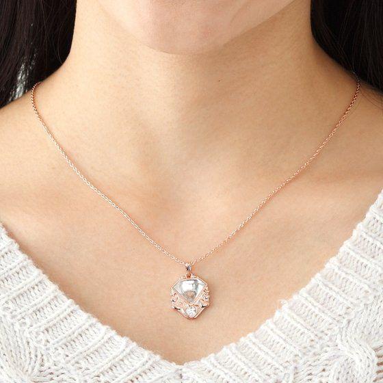 魔法つかいプリキュア! ダイヤの原石モチーフ silver925 ペンダント