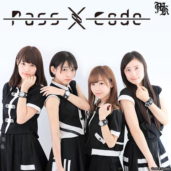 【Musikleidung】PassCode×Red Monkey Collaboration Wristwatch Silver925 Hi-End Model【3次受注3月発送分】