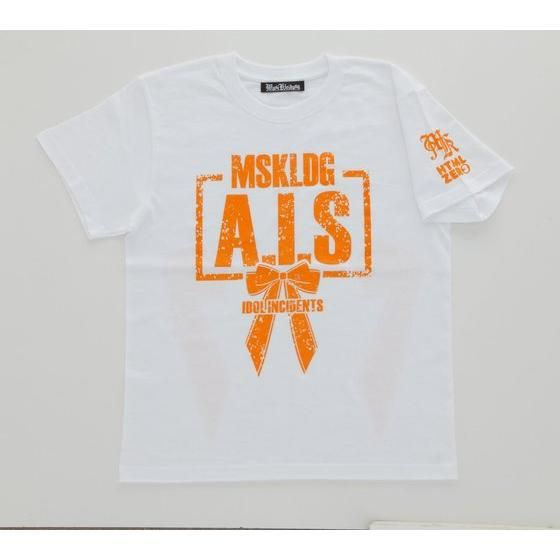 Musikleidung アイドル事変×HTML03 Tシャツ A.I.S 白