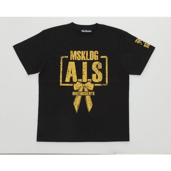 Musikleidung アイドル事変×HTML03 Tシャツ A.I.S 黒