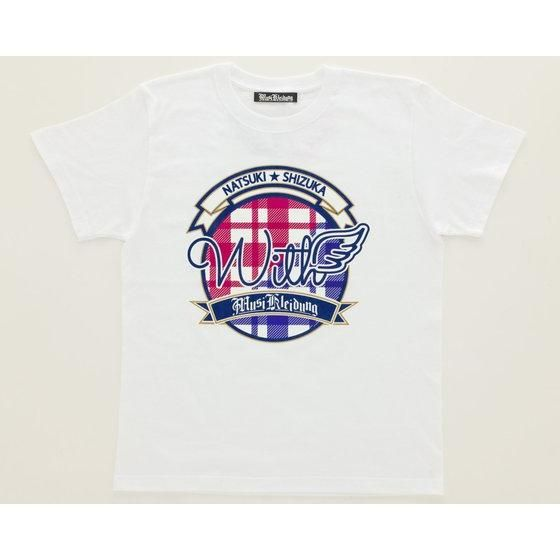 Musikleidung アイドル事変×HTML03 Tシャツ with 白